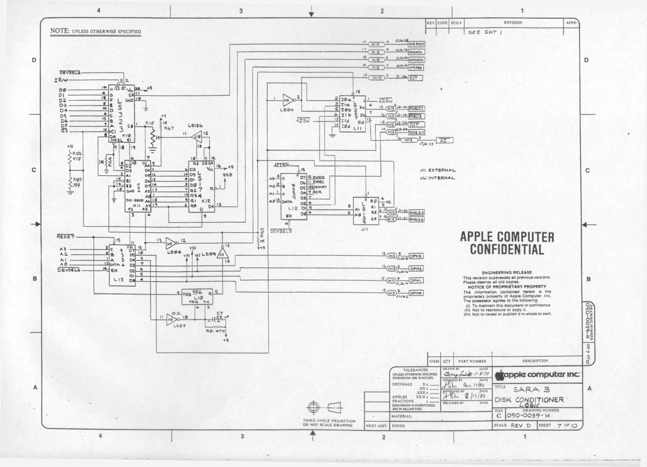 Gm Radio Wiring Diagram 16169165 Apple 2 Circuit Schematics Diagrams Iii Schematic Rh Apple3 Org Examples Easy
