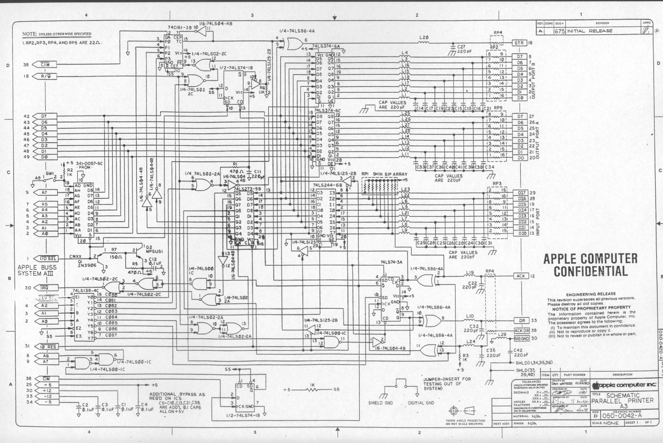 Apple III Schematic Diagrams on circuit diagram, straight-line diagram, data flow diagram, ladder logic, control flow diagram, function block diagram, technical drawing, functional flow block diagram, tube map, piping and instrumentation diagram, electronic design automation, diagramming software, schematic capture, one-line diagram, cross section, block diagram,